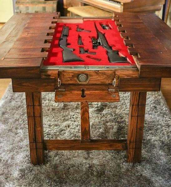 Gun table