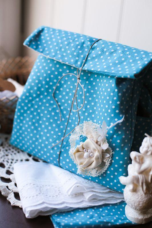 СкрапКопилка: МК Походная сумочка для скрапостей от Verushka