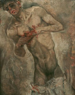 Weimar: Art of the First World War it was designed to show people of pain.