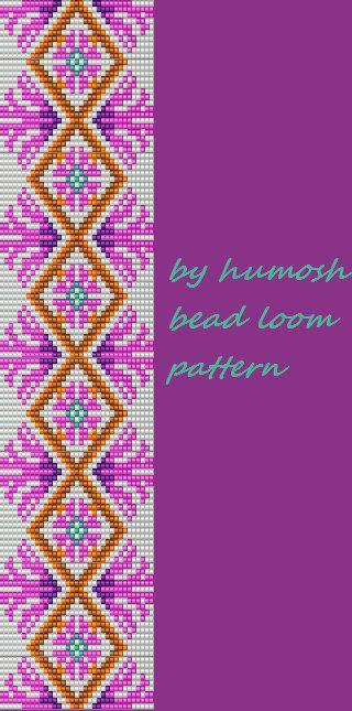 bead loom pattern by Humosh on Etsy