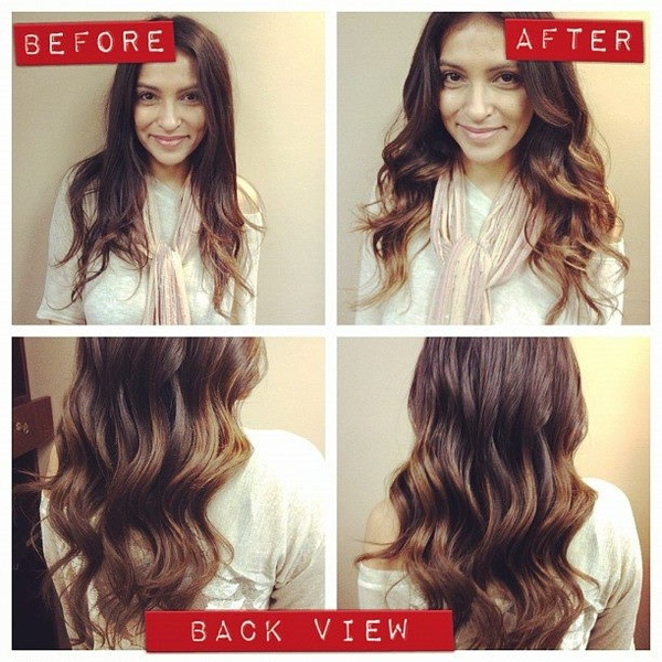 #ombre #ombrehair #hair #makeup #beforeandafter: Ombrehair Hair, Ombre Hair, Beforeandafter Allthingsbeauti, Makeup Beforeandafter, Hairmakeup, Hair Makeup, Hair Style, All Things Beautiful, Ombre Ombrehair