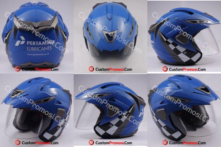 Helm Pertamina Lubricant, sarana untuk promosi/beriklan salah satu produk PT Pertamina Lubricant (anak perusahaan pertamina). Pelumas khusus untuk bisnis