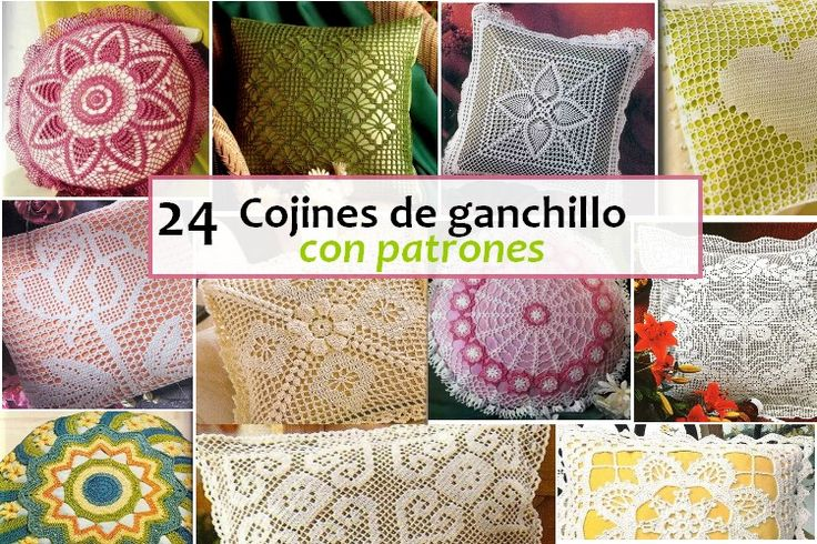 393 best images about crochet on pinterest for Cojines a crochet