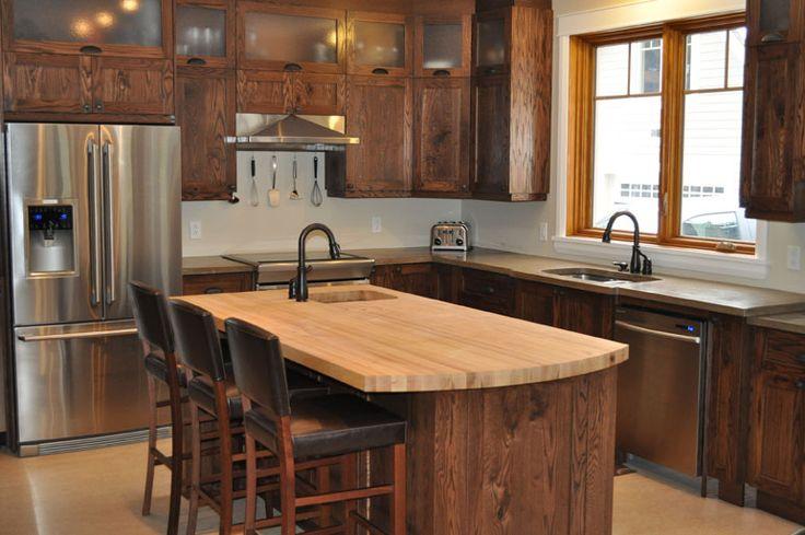Armoire de cuisine en pin rustique recherche google for Armoire de cuisine en pin