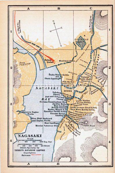 Best ᒍᗩᑭᗩᑎ Images On Pinterest Antique Maps - Japan map 1920