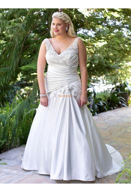 Manteau de cour Robe de mariée 2014  Robes de mariée glamour ...
