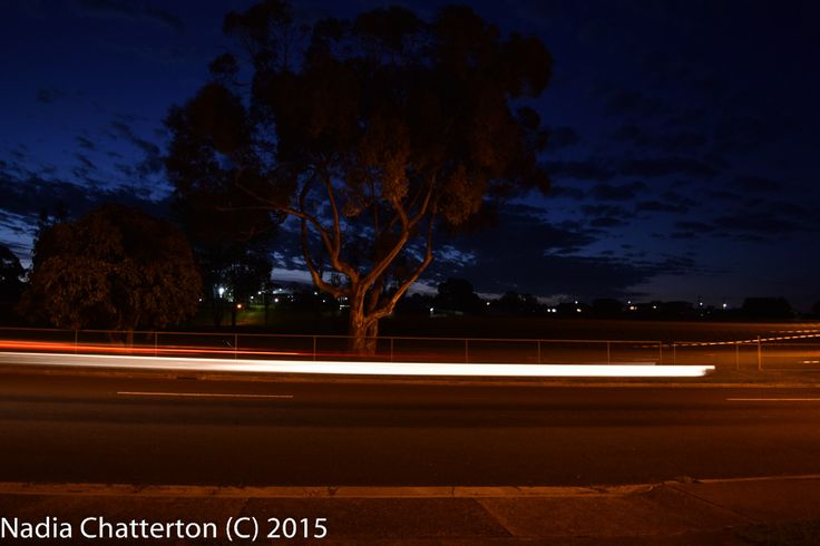 L1M2AS3- Shutter Priority, Blurred motion eg Travelling car showing trail of rear lights. Taken using a tripod f/3.5 1sec ISO-200 Nikon D5500