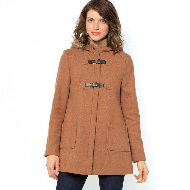 Veste duffle coat court femme