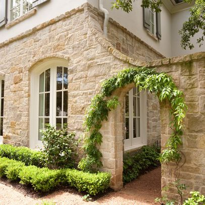 Stucco garden walls design ideas pictures remodel and for Stucco garden wall designs