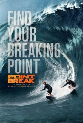 Point Break (2015) movie #poster, #tshirt, #mousepad, #movieposters2