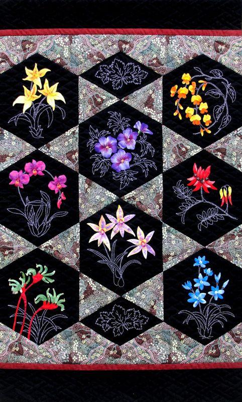 17 Best Images About Australian Quilt And Applique Designs