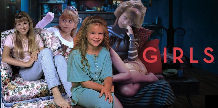 HBO's GIRLS is Full House and Lena Dunham is DJ Tanner on crampmystyle.wordpress.com