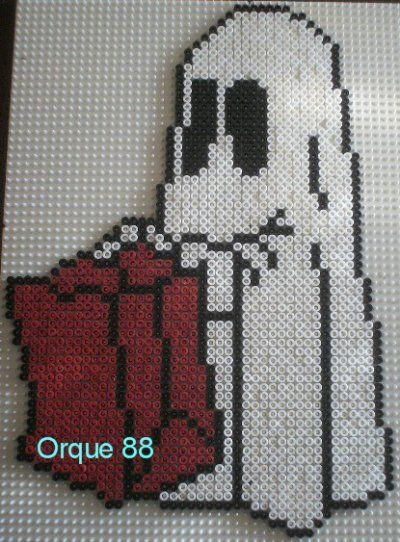 Vintage Halloween hama beads by marmorette More