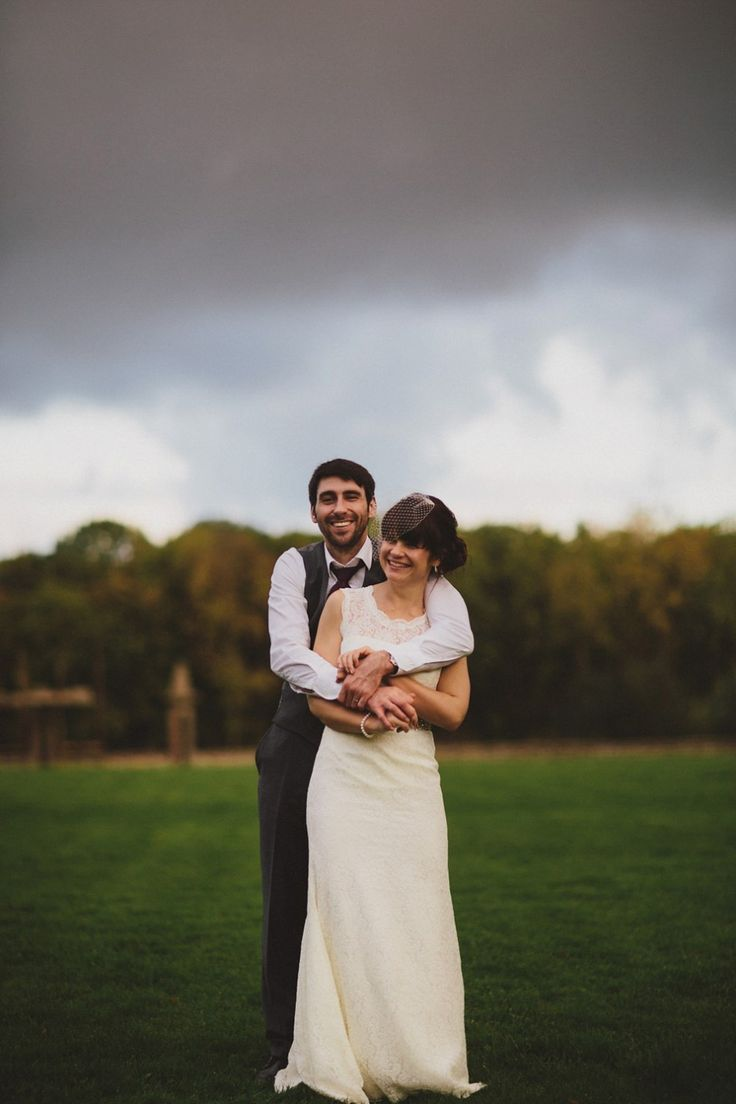Bride Jenni wears a Watters gown for her wedding at Ellingham Hall in Northumberland  | Photography by http://www.awakeanddreamingweddings.com/