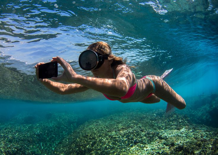 Introducing the new #Pelican Marine Case for iPhone 6 and 6+. Complete underwater protection.