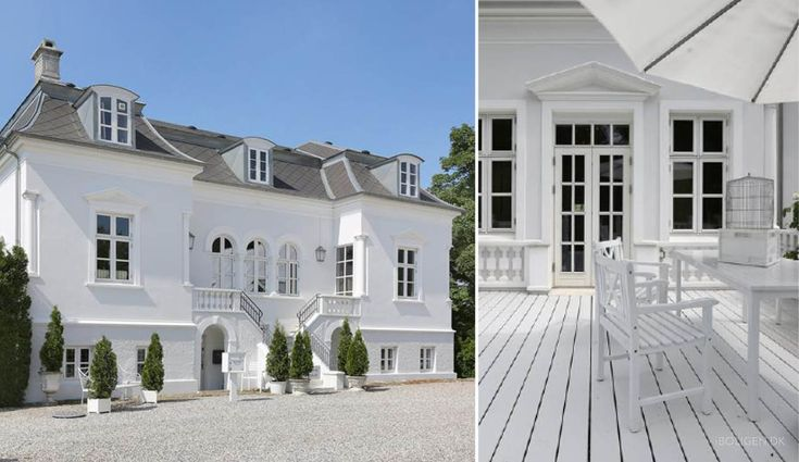 Denmark's most beautiful county houses.