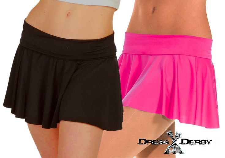 The best roller derby skirt we've ever carried! This skirt is so flattering on everybody! Stretchy, bouncy and durable. It's perfect! #rollerderby #rollerderbyclothing #rollerderbyskirt