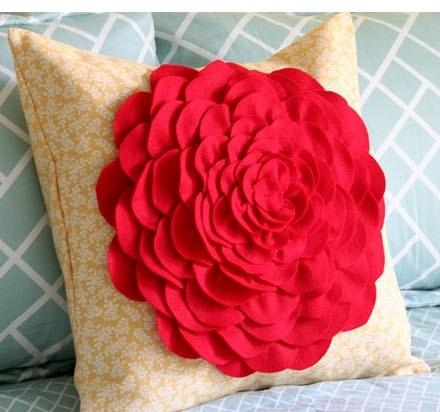 DIY Pillow Flower
