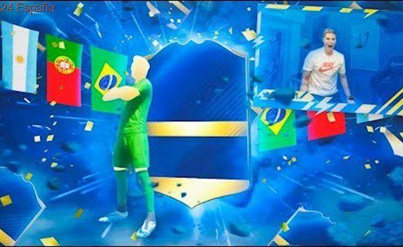 NEYMAR TOTS IN A PACK!!! BRUTAL TOTS DE LA LIGA SANTANDER IN A PACK!! | FIFA 17
