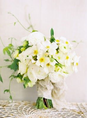 White and yellow bouquet from Flowerwild Design