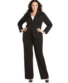 Traje formal para mujer gorda