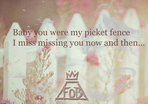 Miss Missing You. Fall Out Boy.