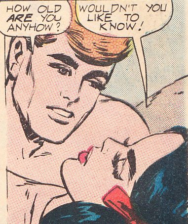 """Comic Girls Say... """" Wouldn't you like to know"""" #comic #vintage #popart"""