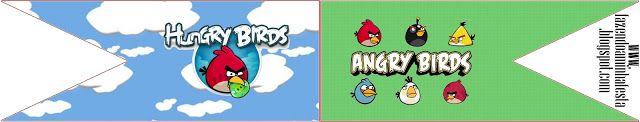 Angry Birds – Kit Completo com molduras para convites, rótulos para guloseimas, lembrancinhas e imagens! | Fazendo a Nossa Festa