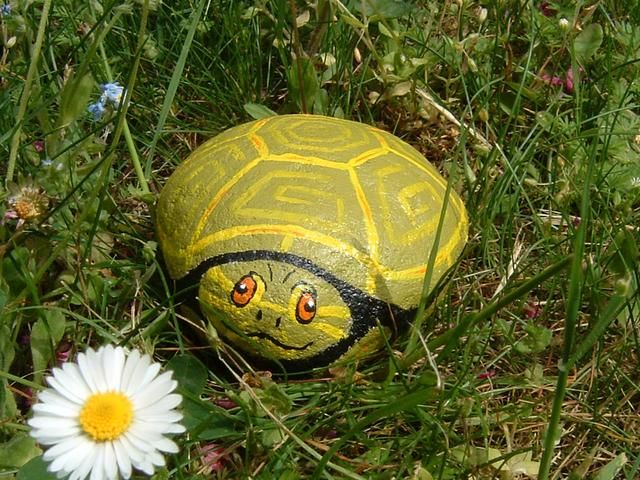 Las 25 mejores ideas sobre piedras pintadas para jardin - Piedras pintadas para jardin ...