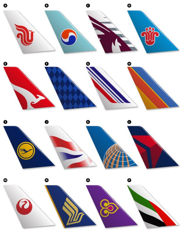 can you identify the airline from its logo