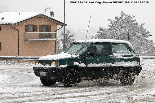 FIAT PANDA 4x4 - Neve Snow a Vigo Meano TRENTO   Flickr - Fotosharing!