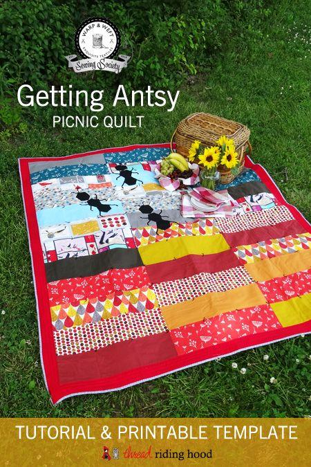 Thread Riding Hood – Getting Antsy Picnic Quilt Tu…