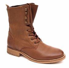 OTTO KERN Echtleder Boots Stiefeletten Stiefel Schuhe Schnür Booties NEU Gr. 39