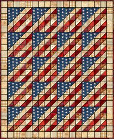 Glory in Scraps. I love this quilt and Quilter's Cache. I had forgotten about this site. It has soooo many patterns.