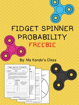 This freebie is a fun way to get your kids excited about math! Let them use those fidget spinners productively as they learn about probability. Includes 3 student response pages for predictions, data collection, and reflection plus one spinner template.