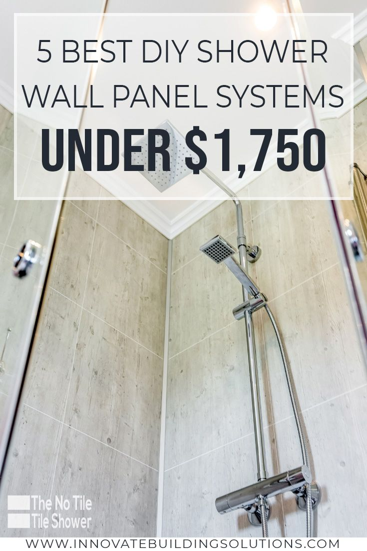 5 Best Diy Shower Wall Panel Systems You Can Buy Under 1 750 Shower Wall Panels Shower Remodel Diy Shower Wall