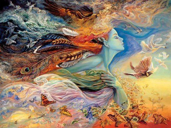 Мысли, которые мы выбираем — подобны краскам, которыми мы пишем на холсте жизни.
