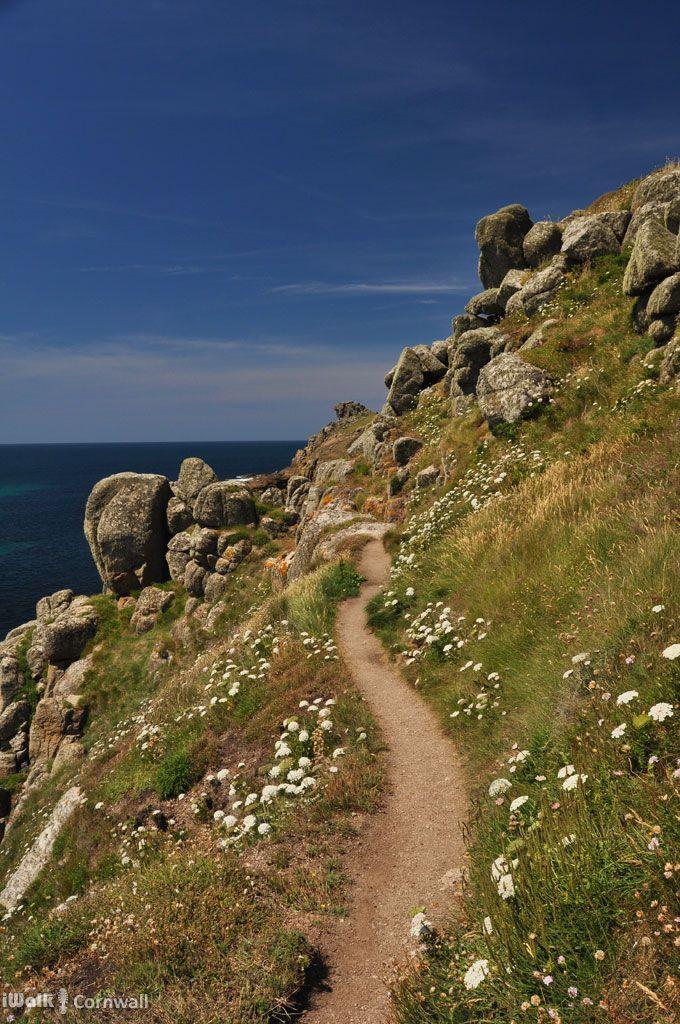 Footpath to Nanjizal, Cornwall