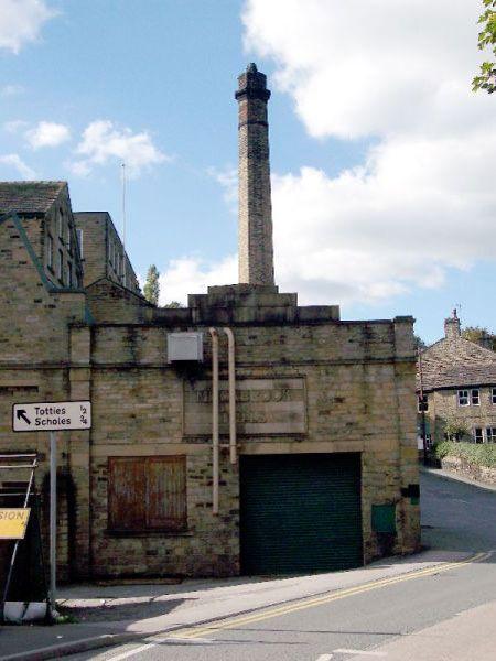 Moorbrook Mill, New Mill, 2006. Source: Kirklees Image Archive