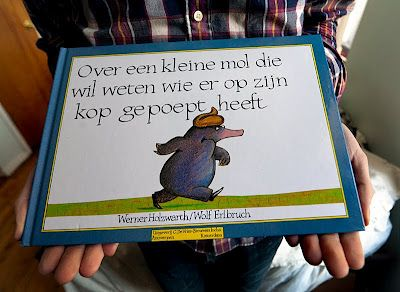 "This is a classic Amsterdam children's book. ""About a Little Mole who Wants to Know who it was that pooped on its head."" BAHAHAHA no way.: Funny Boys, Kids Books, Boys Books, Funny Stuff, Dutch Children, Children Books, Classic Children, Classic Books, Best Baby Books"