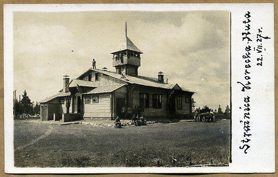 Strażnica KOP- u , Korecka Huta 1927 r