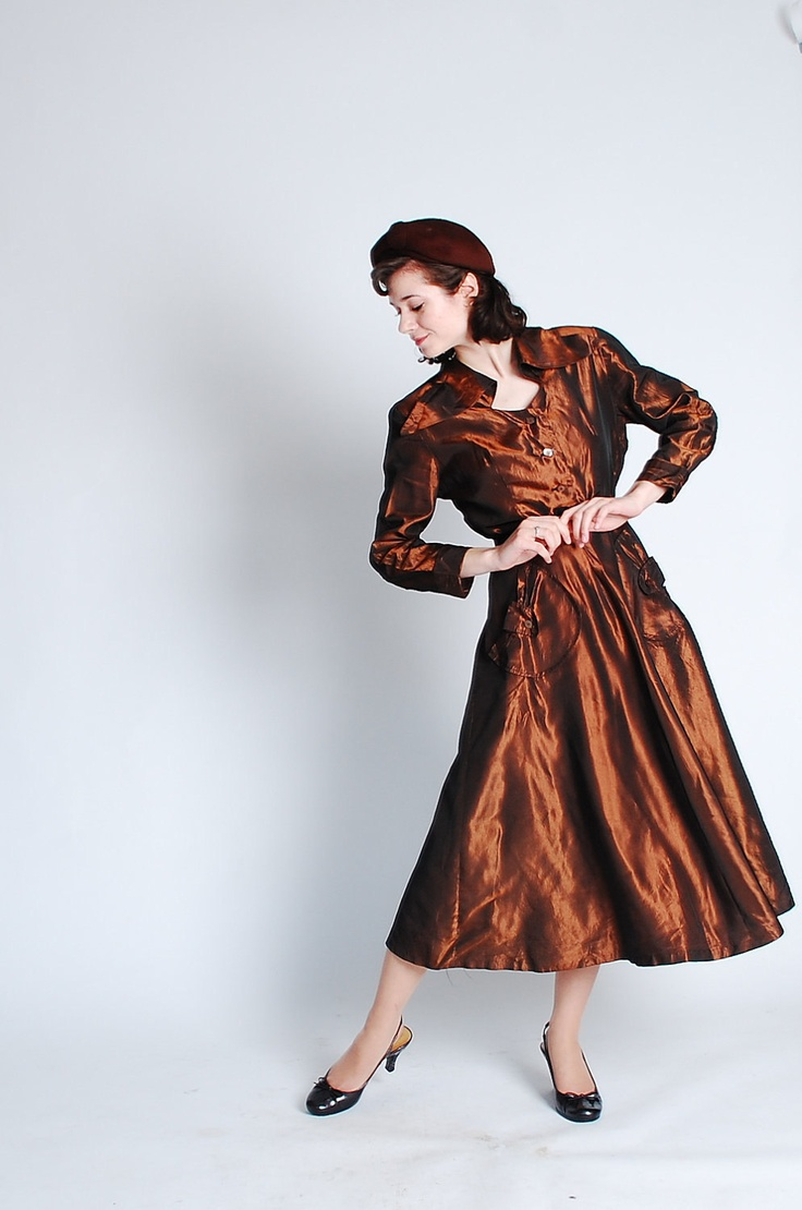 Vintage 1940s Cocktail Dress