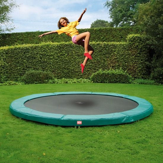 "Berg® Trampolin InGround ""Champion"" Randbezug Grün, ø 2,70 m"