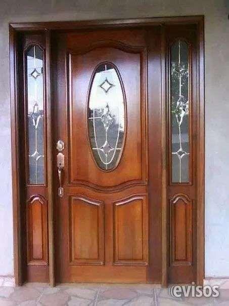 Fabrico muebles demadera de color cedro caoba laurel puertas - Puertas principales de madera ...