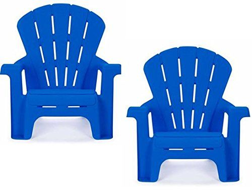 Kids Or Toddlers Plastic Chairs 2 Pack Bundle,Use For Indoor,Outdoor, Inside