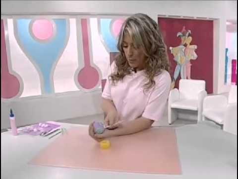 Artesanato com Massa de Biscuit - Hipopótamo - Manhã Viva - YouTube