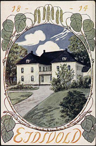 Eidsvold 1814 | Flickr - Photo Sharing! Good design inspo