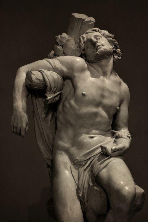 St. Sebastian Gianlorenzo Bernini, Museo Thyssen-Bornemisza, Madrid