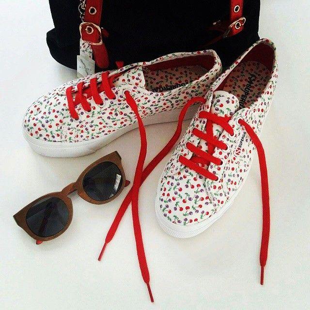 #superga #supergagreece #cherries #summer #supergagreececontest #contest #win #rain #sunglasses #bag #love