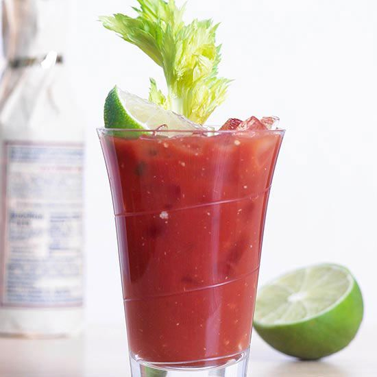 This popular vodka cocktail may be best served New Year's morning! More classic cocktail recipes: http://www.bhg.com/recipes/drinks/wine-cocktails/classic-cocktail-recipes/?socsrc=bhgpin123113bloodymary&page=4